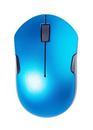 myszy: Bezprzewodowa mysz komputerowa, samodzielnie na białym tle