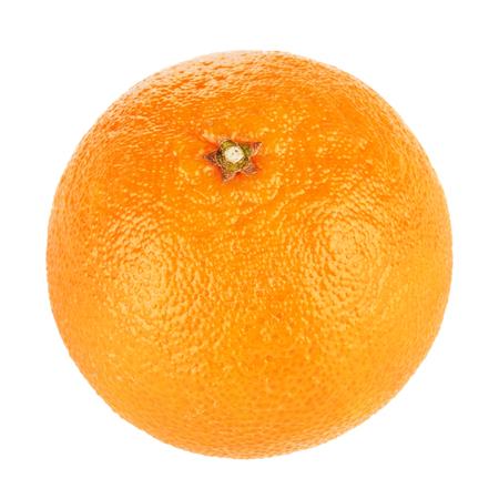 mandarine: fresh orange mandarine, isolated on white background