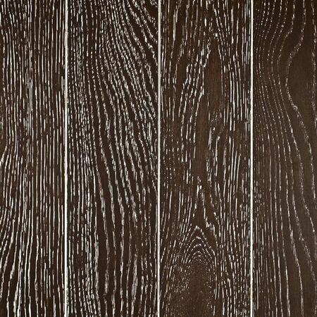 wall of black painted oak boards, background Stok Fotoğraf