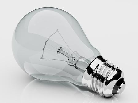 Electric light bulb.