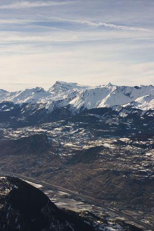 valais: View of the alps (Valais, Switzerland)