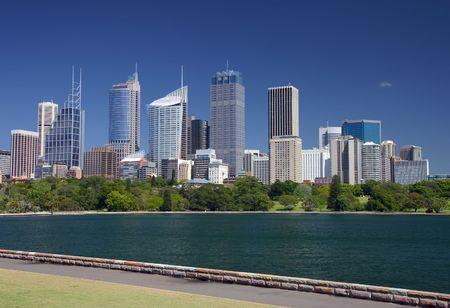 View of Sydney skyline Stock Photo