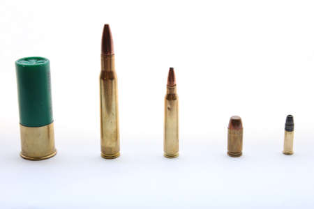 Different Caliber Bullets