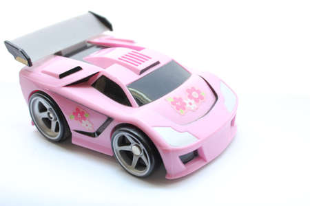 Pink Race Car Toy photo