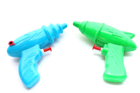 Toy Water Gun Stock Photo