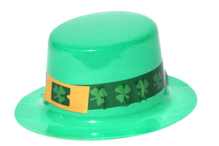 leprechauns hat: Isolated close up view of a leprechauns hat