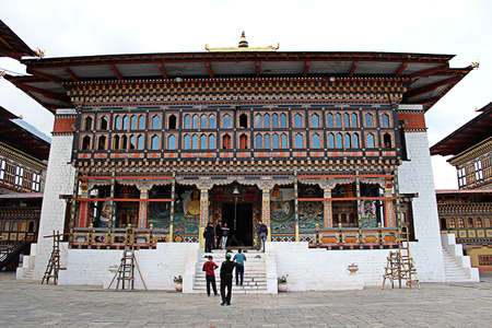 Bhutan: Temple in Bhutan