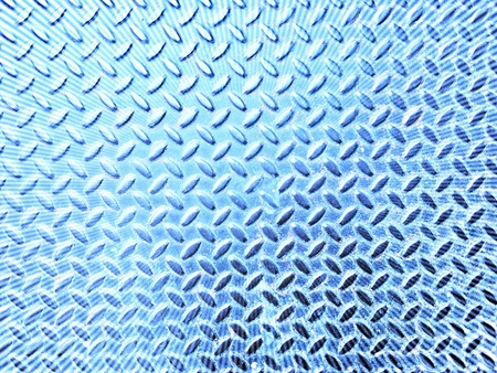 metal: Steel sheets blue color with patterns Stock Photo