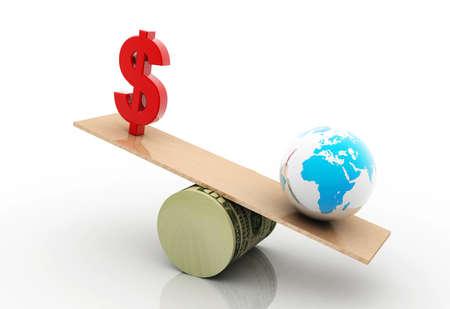 keeping: dollar in digital background