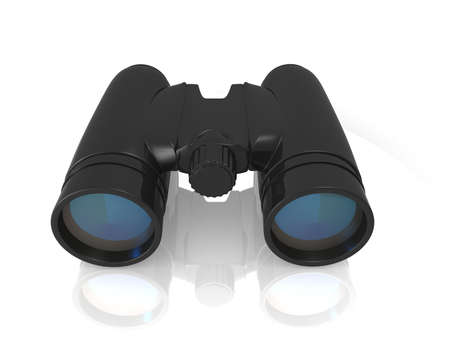 digital illustration of Binoculars in white background Stock Illustration - 16946890