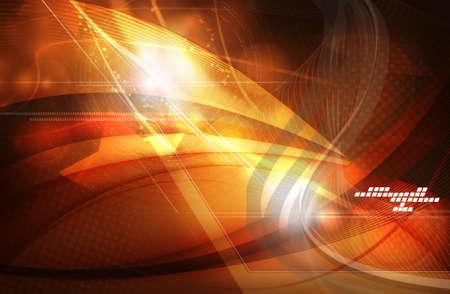 Digital illustration of digital background in colour Stock Illustration - 22883727