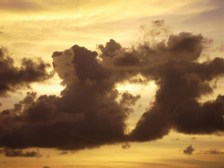 no cloud: cloud no. 7 Stock Photo