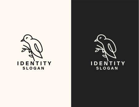 Bird logo vector art design