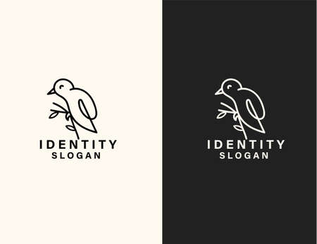 Bird logo vector art design
