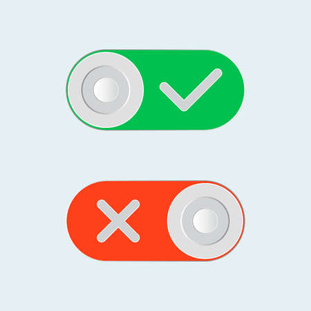 toggle switch: Toggle switch Illustration