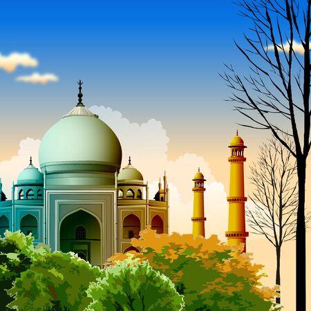 agra: Taj Mahal, agra, India  Stock Photo