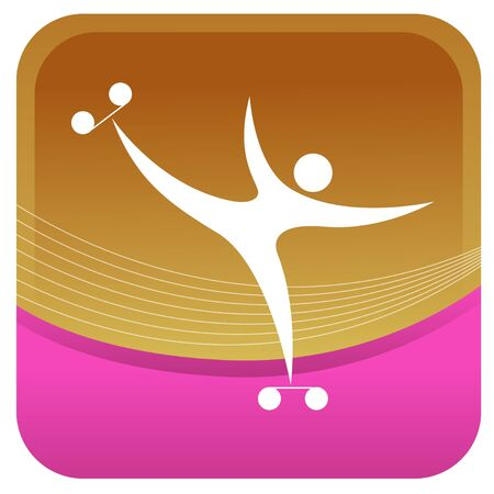 patinaje: mostrando humana posturas sobre patines