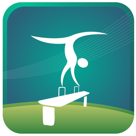 human showing gymnastic postures Stock Photo - 7597161