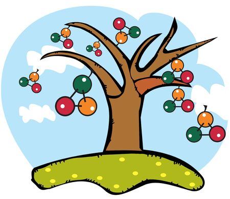 atomic structure: an atomic structure tree