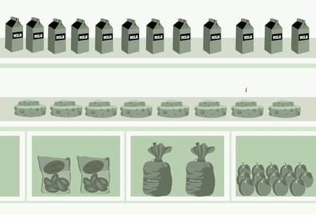 departmental: supermarket