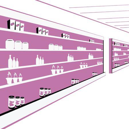 retail therapy: supermarket