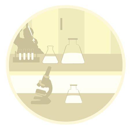 experimenting: laboratory