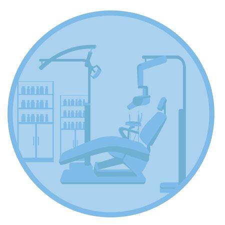 dental chair: dentist clinic