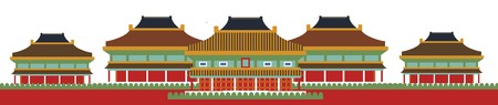 traditionally: Architectural details of a traditionally built Buddhist monastery