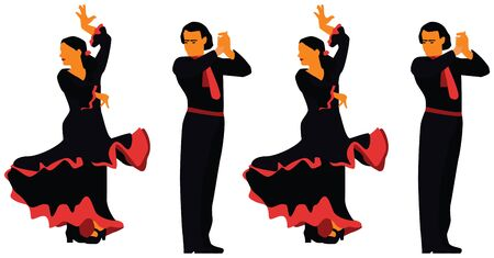 computer dancing: flamenco dancing