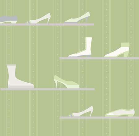 a shoe store Stock Photo - 9688324