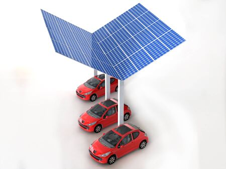 solar panel for cars Stock Photo - 16774130