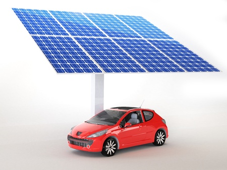 solar panel for cars  Stock Photo - 16774106