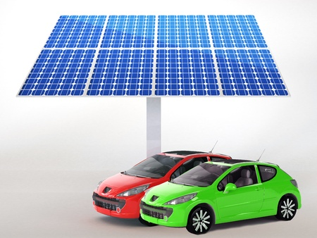 solar panel for cars  Stock Photo - 16774105