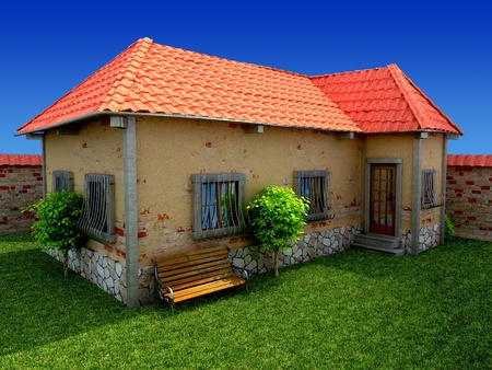 old house Stock Photo - 16774328