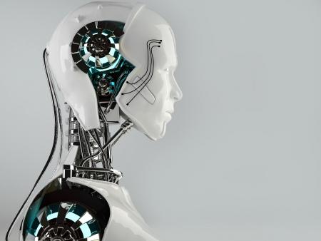 robot: Robot mężczyźni android