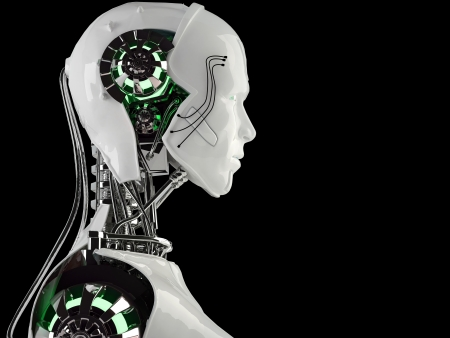 robot android men Stock Photo - 16774192