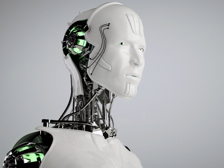 robot android men photo