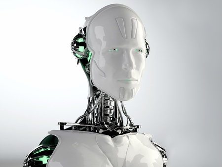humanoid: robot android men