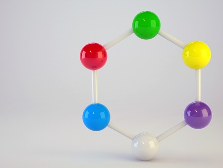medical molecule background Stock Photo - 16774292