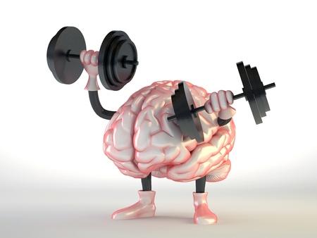 mente: cerebro Foto de archivo