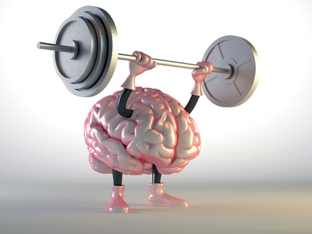productividad: cerebro Foto de archivo