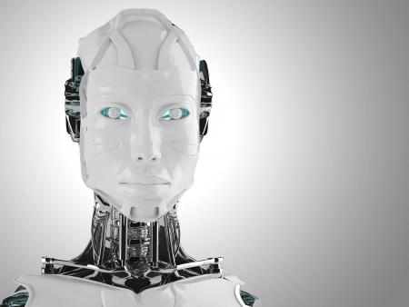 ロボット アンドロイド女性