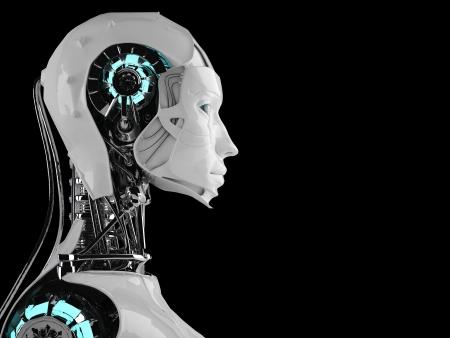 robot androïde femmes Banque d'images