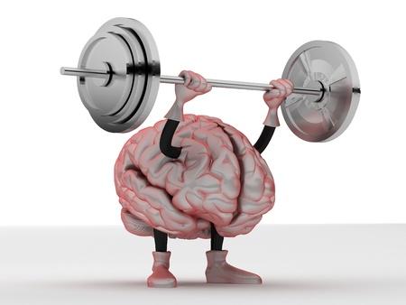 psicologia: cerebro Foto de archivo