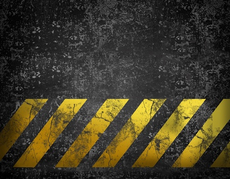 dangerous construction: Grunge construction background