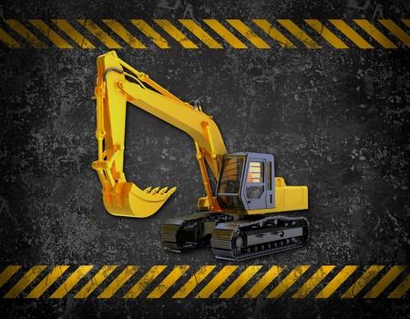 backhoe loader: bulldozer