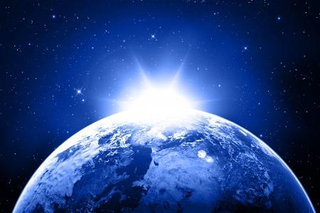宇宙地球 写真素材