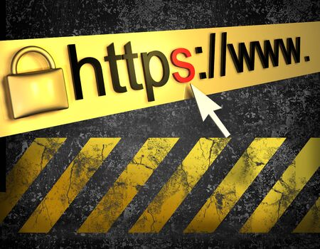 https protected web pagebackground Stock Photo - 16774519