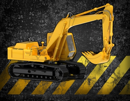 road scraper: bulldozer