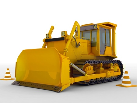 paving: bulldozer